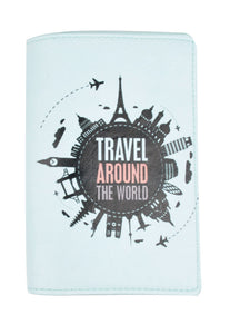 SKU : 30756 - Travel Around the World - Passport Holder