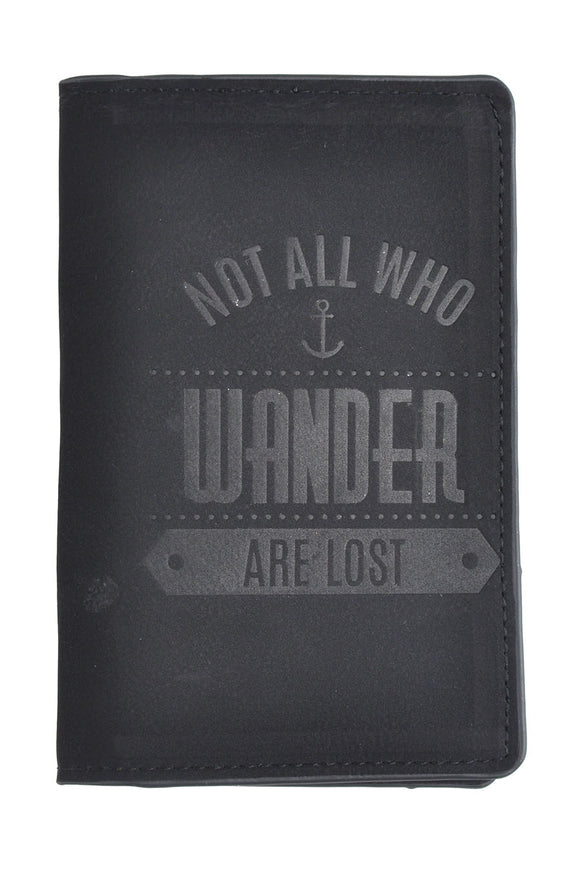 SKU : 30760 - Not All Who Wander Are Lost - Passport Holder