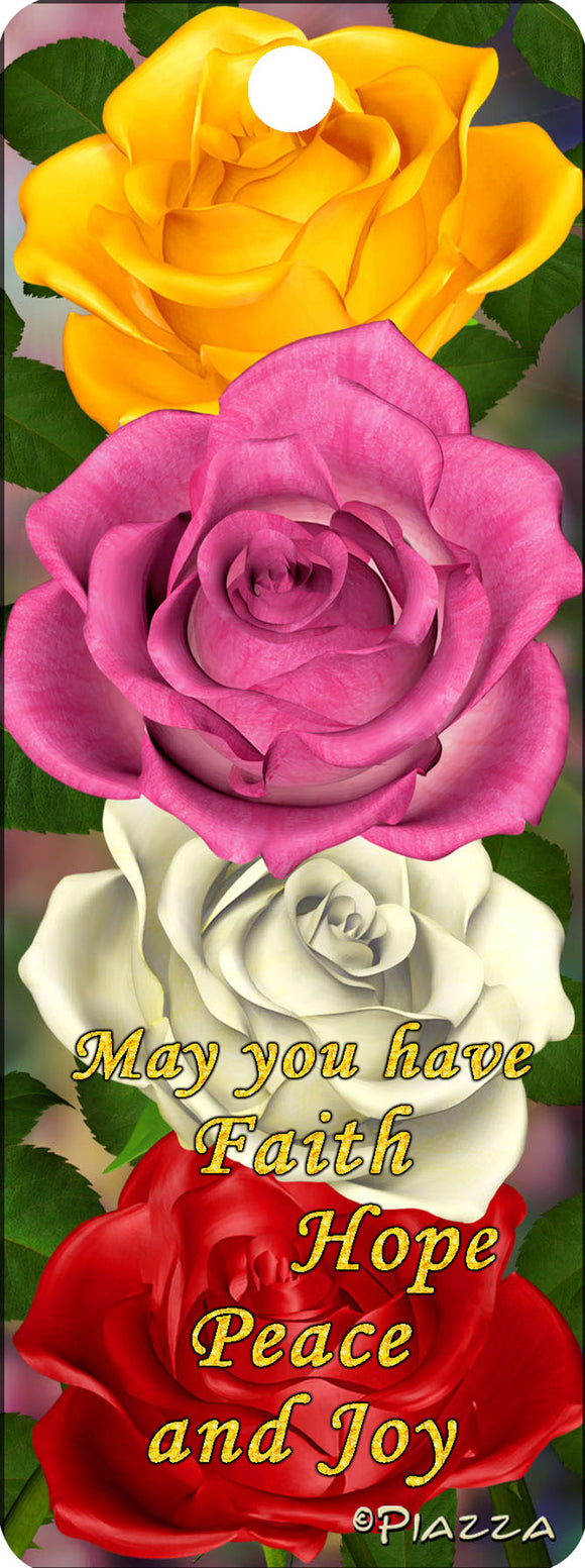 SKU : RTD16209M - May you have Faith - 3D Bookmark