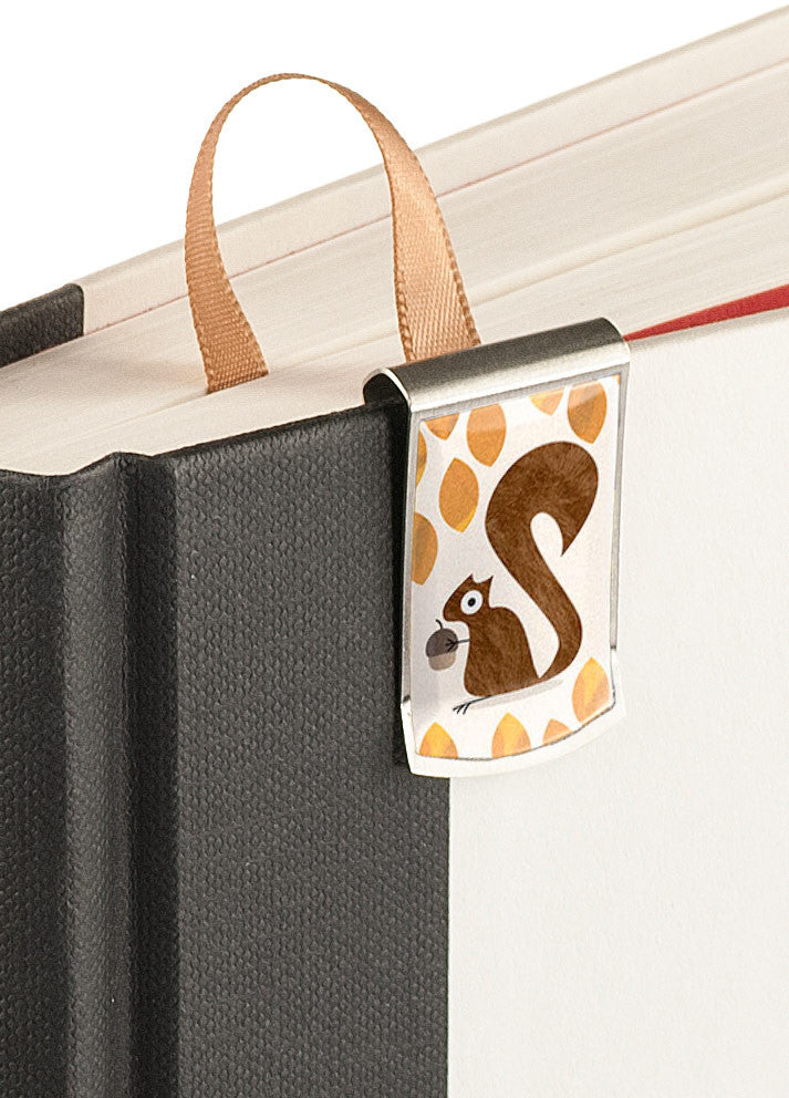 Squirrel Bookmark up close