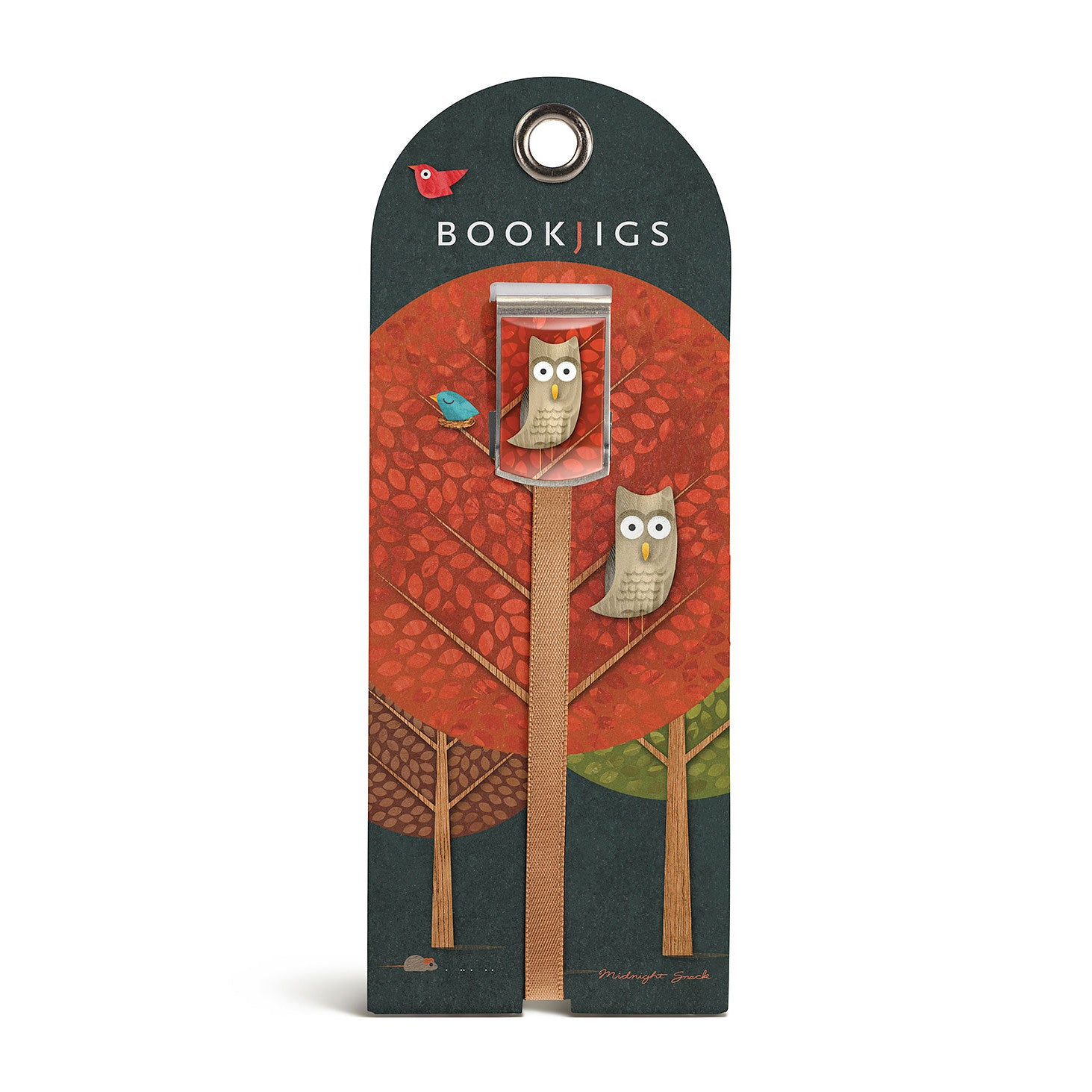 bookjigs bookmark owl