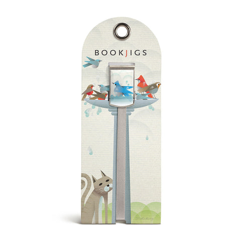 bookjigs bookmark birdbath