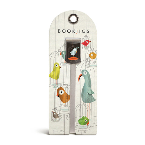 Bookjigs bookmark birds birdcages