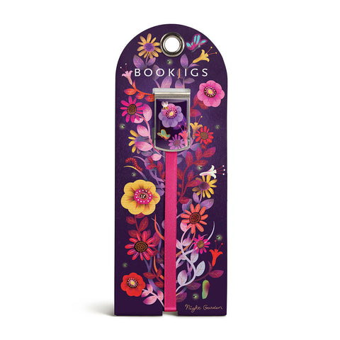 bookjigs bookmark night garden