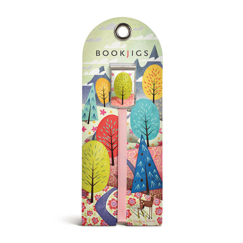 bookjigs bookmark spring nature scene