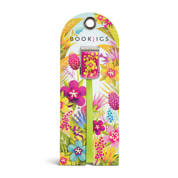 bookjigs bookmark tropical paradise