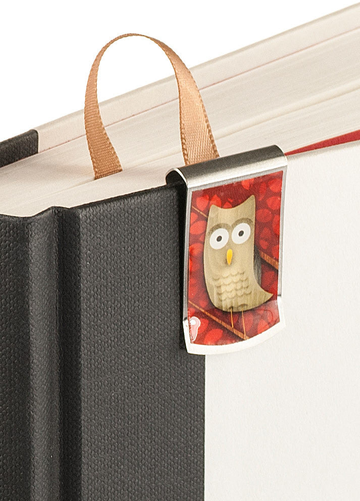 Owl Bookmark up close