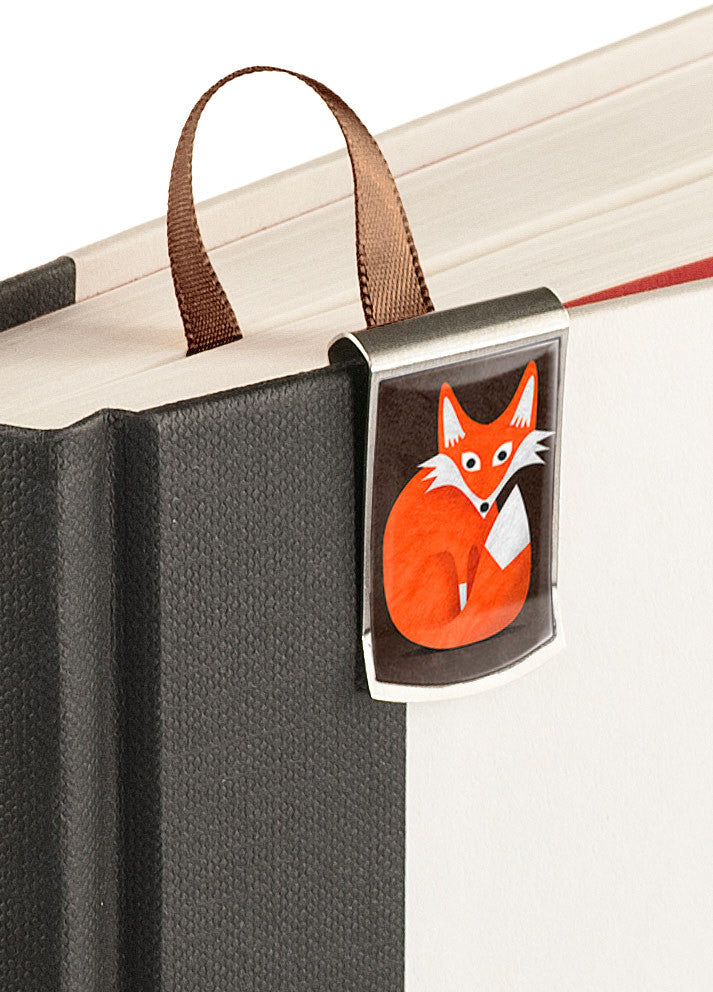 Fox Bookmark up close