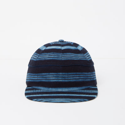 Guinea Stripe Hat (Indigo Collection)
