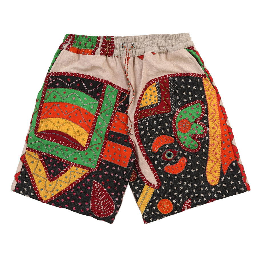 Indian blanket shorts (Stone Leaf)