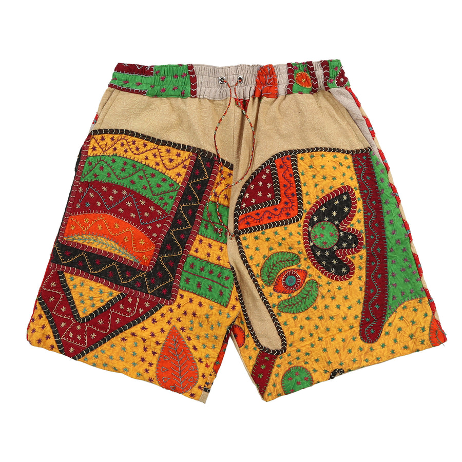 Indian blanket shorts (Tan Leaf)