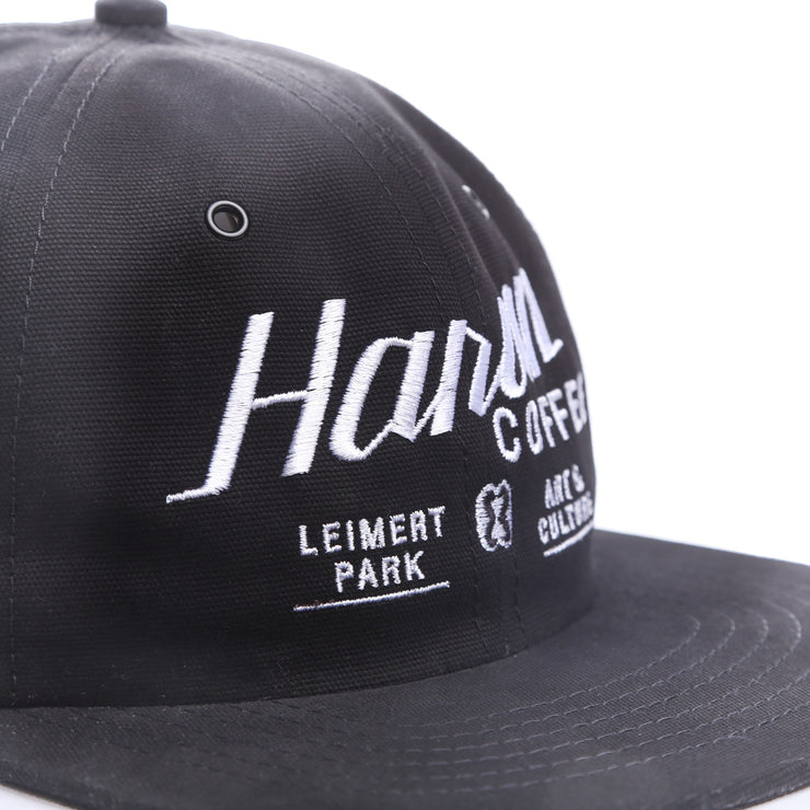 Harun Coffee 6 Panel Unstructured Cap