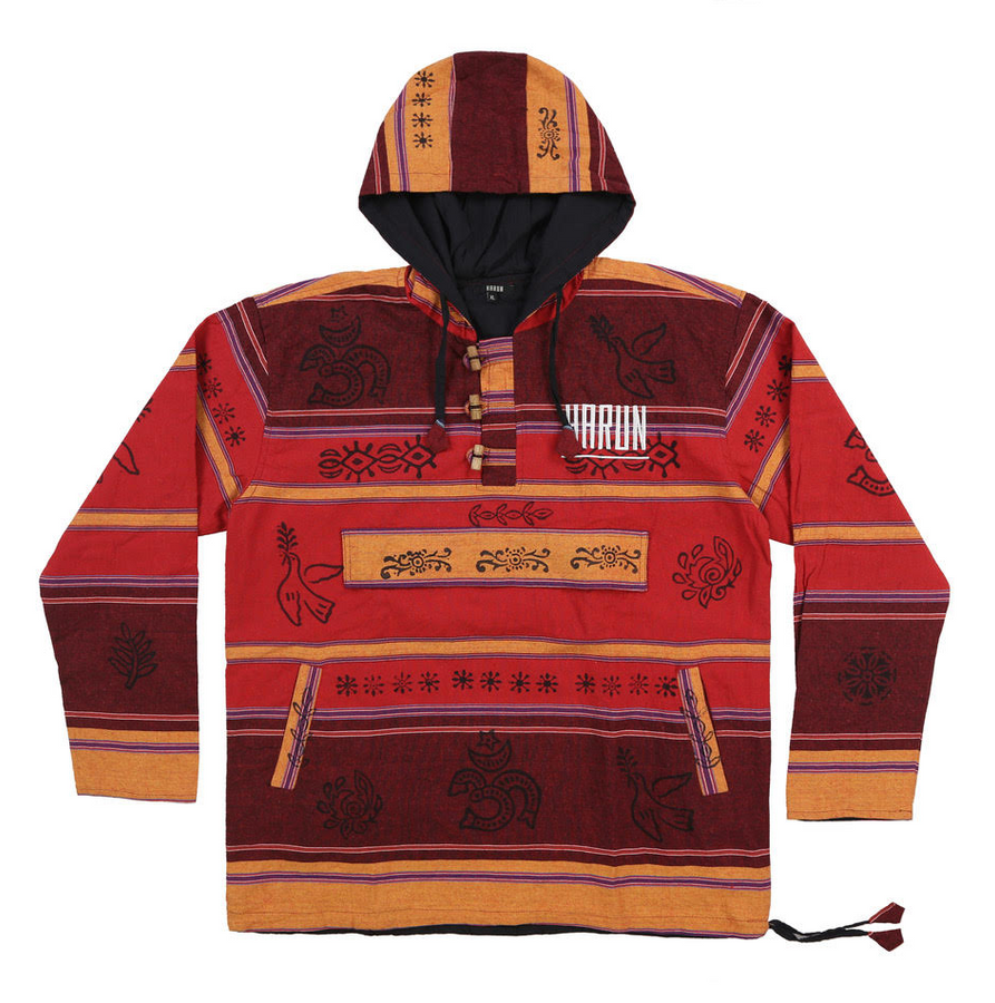 Nepal Hoodie (Multi-Colored)
