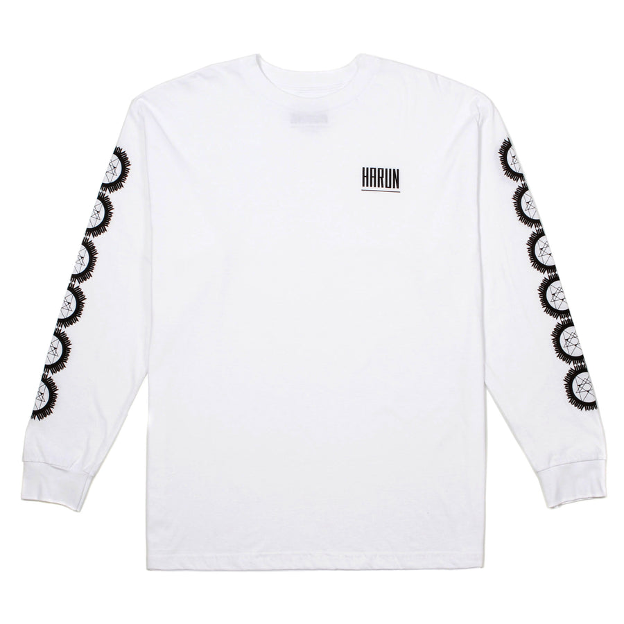 Harun Long Sleeve Geometric Pattern