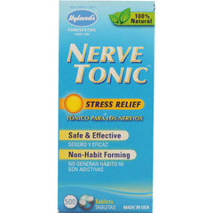 Hylands Homeopathic Nerve Tonic Tablets - 500 Tablets