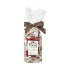 Yummy Earth Organic Candy Drops Ginger Zest - 6 oz