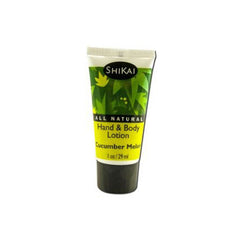 Shikai Products Lotion Cucumber Trial - Case of 12 - 1 oz
