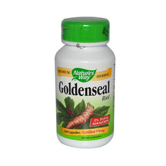 Nature's Way Goldenseal Root - 100 Capsules