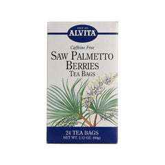 Alvita Teas Saw Palmetto Berries Tea Bags - 24 Tea Bags