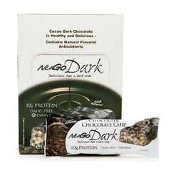 NuGo Nutrition Bar - Dark Chocolate Chip - 50 grm - Case of 12