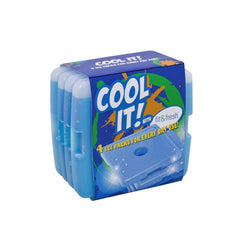 Fit and Fresh Kids Cool Coolers - 4 Packs