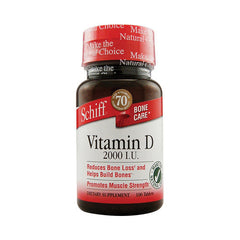 Schiff Vitamin D - 2000 IU - 100 Tablets