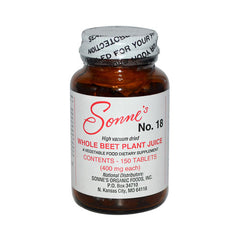 Sonne's Whole Beet Plant Juice No 18 - 400 mg - 150 Tablets