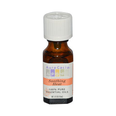 Aura Cacia Pure Essential Oils Soothing Heat - 0.5 fl oz