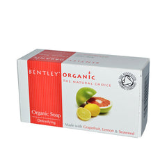 Bentley Organic Soap - Detoxifying Grapefruit Lemon and Seaweed - 5.3 oz