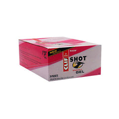 Clif Bar Clif Shot - Organic Razz - Case of 24 - 1.2 oz