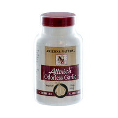Arizona Natural Products Allirich Odorless Garlic - 500 mg - 250 Capsules