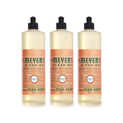Mrs. Meyer's Liquid Dish Soap - Geranium - Case of 6 - 16 oz