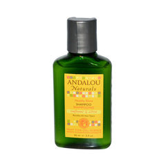 Andalou Naturals Brilliant Shine Shampoo Travel Size Sunflower and Citrus - 2 fl oz