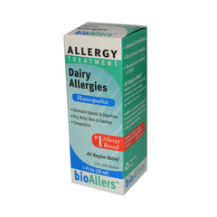 Bio-Allers Dairy Allergies Treatment - 1 fl oz