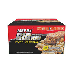 Met-Rx Colossal Bar - Peanut Butter Caramel - Case of 12 - 100 Grams