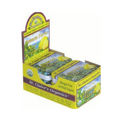 St Claire's Display Center Organic Lemon Tarts - Case of 6 - 1.5 oz