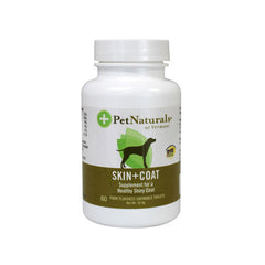 Pet Naturals Of Vermont Skin and Coat Support - 60 Ct