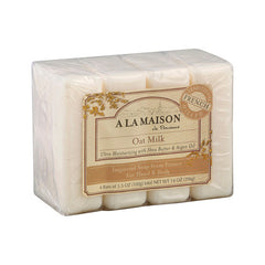 A La Maison Bar Soap - Oat Milk - Value4 Pack