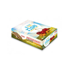 Rise Bar Energy Bar - Organic Cherry Almond - Case of 12 - 1.6 oz