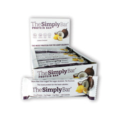 The Simply Bar Prot Bar Lemon and Coconut - Case of 15 - 1.4 oz