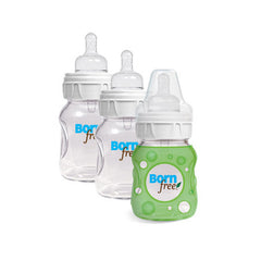 Bornfree Natural Feeding Glass Bottles - Slow Flow - 3 Pack - 5 oz