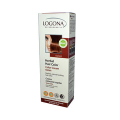 Logona Naturkosmetik Herbal Hair Color Cream - Tizian - 5.1 oz