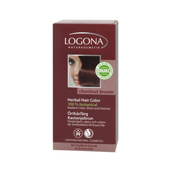 Logona Hair Color - Chestnut Brown - 3.5 oz