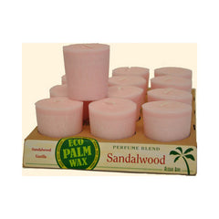 Aloha Bay Votive Candle - Sandalwood - Case of 12 - 2 oz