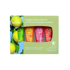 Weleda Body Lotion Indulgent 4 Piece Kit