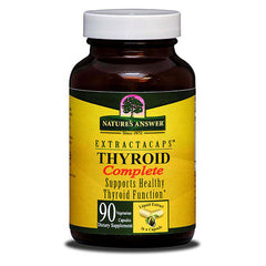 Nature's Answer Thyroid Complete Extractacaps - 90 Liquid Capsules