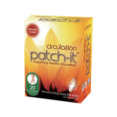 Nutriworks Patch-It Circulation - 20 Pack