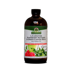 Nature's Answer L-Carnitine Raspberry Ketones and Green Coffee Bean - 16 fl oz