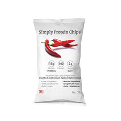 The Simply Bar Prot Chips - Chili - Case of 12 - 33 GRM