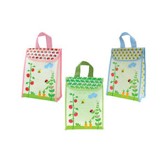Green Sprouts Reusable Lunch Bag - Garden Pattern